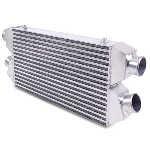 Universale in lega di alluminio Twin Turbo 550x 280x 75mm