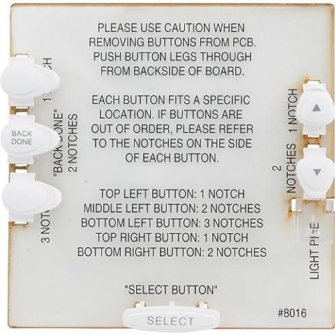Jandy Zodiac R0551400 Pulsante bianco per il sistema di controllo OneTouch AquaLink RS