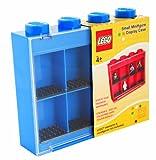 Lego - L005FRA-1 - Ameublement et Décoration - Vitrine Figurines 8 Cases - Bleu