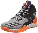 adidas D Rose 7 Primeknit Herren-Basketball Turnschuhe/Schuhe-Grey-39.33