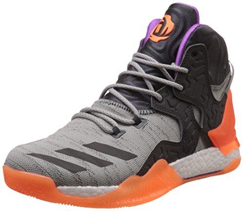 adidas D Rose 7 Primeknit Herren-Basketball Turnschuhe/Schuhe-Grey-39.33 (Kobe 6 Basketball-schuhe)