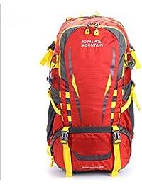 xie @ al aire libre deporte recreativo equitación paquete mochila de viaje resistente al agua y resistente al desgarro senderismo paquete, rojo