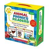 Animal Phonics Readers: 24 Easy Nonfiction Books That Teach Key Phonics Skills