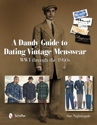 ing Vintage Menswear: WWI Through the 1960s (1914 Kostüme)