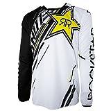 Shot 2017 Herren Motocross / MTB Jersey - ROCKSTAR - schwarz-gelb: Größe Jersey: L