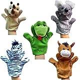 Happy Cherry - Lot de 5 Types Différents Marionnettes à Main - Rhino / Koala /...