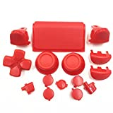 Zhhlinyuan gute qualität Red L1 R1 L2 R2 Triggers Thumbstick D-pad Buttons Kit fur PS4 Pro Controller 4737# -