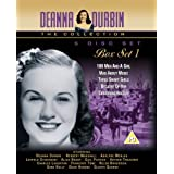 Deanna Durbin Box Set Vol 1 [DVD] - 100 Men & A Girl, Mad About Music, Three Smart Girls, Because of Him and Christmas Holiday