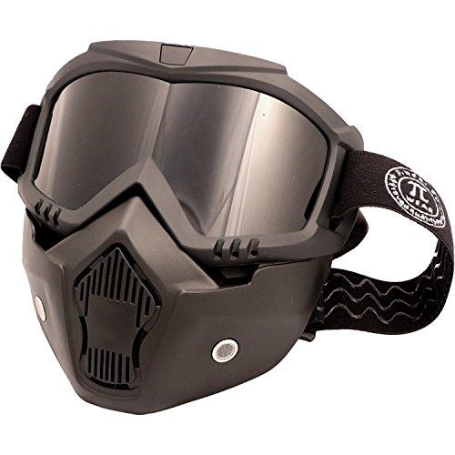 PI Wear Invase dunkel getönt☀ Brillen-Maske, Goggel-Mask, Paintball Maske (Brille Thermal Paintball Maske)