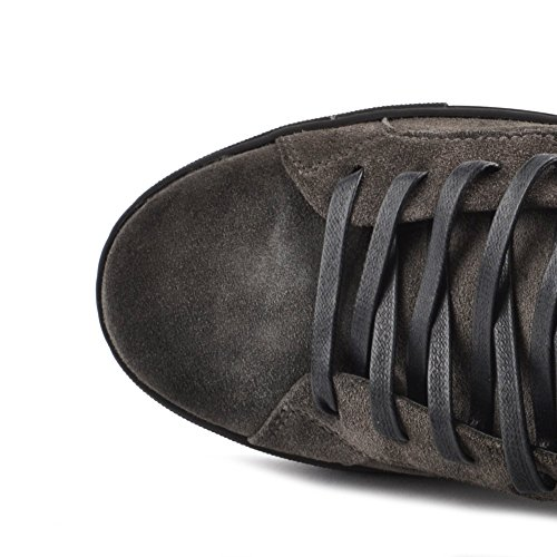 Crime London Uomo Undercover Sneaker Grigio Grigio