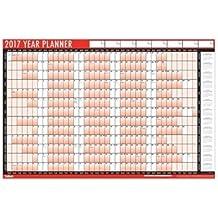 Calendario de 2016 para pared con bolígrafo y pegatinas - calendario organizador tamaño A1