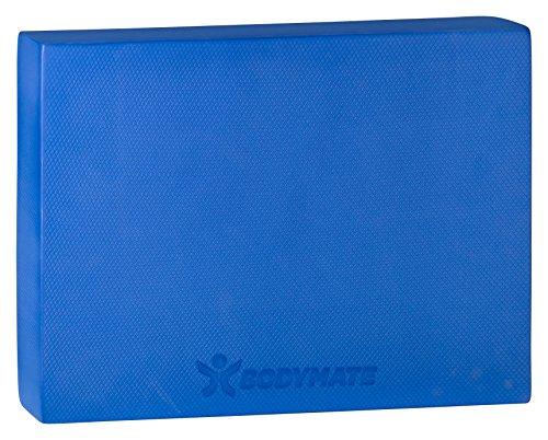 BODYMATE Balance Pad 2GO 44x33x6cm BLAU I Harte Variante für Anfänger, Reha und Personen >80KG I Verbesserung von Balance, Gleichgewicht, Koordination und Stabilität