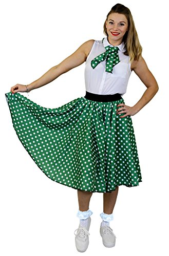 ILOVEFANCYDRESS I love Fancy Dress ilfd4547ps Damen Kostüme mit lang Polka Dot Rock (Plus Größe)