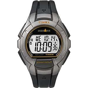 Timex TW5K93700 Orologio da Polso, Quadrante Digitale Unisex, Cinturino in Resina, Grigio Fumo/Nero