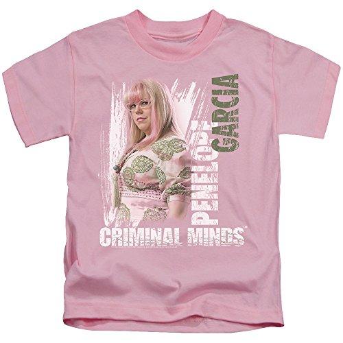 Criminal Minds TV Show CBS Penelope Little Girls T-Shirt Tee