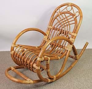 rattan kinder schaukelstuhl schaukler fb pinie gr 80 x 37 x 70 cm k che haushalt. Black Bedroom Furniture Sets. Home Design Ideas