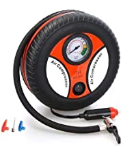 Portable Electric Mini DC 12V Air Compressor Pump for Car and Bike Tyre Tire Inflator