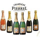 Caja Especial De 6 Botellas De Champagne Robert Pierrel