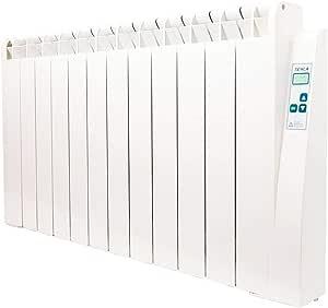 farho Radiateur /à Inertie Fluide Caloporteur Puissance 750 Watts Tessla LH /· Radiateur Electrique Basse Consommation Programmable /· Radiateurs /Électriques /à Inertie Chaleur Douce 6
