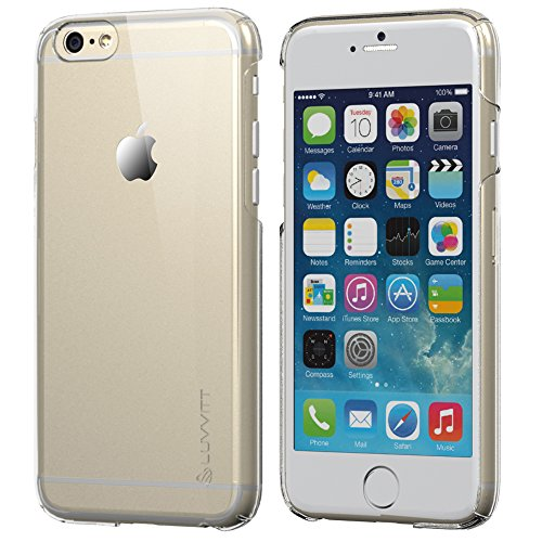 iPhone 6 Case, luvvitt Cristal Hard Shell kratzfest transparent klar Back Schutzhülle für Iphone 6 Air/iPhone Air Fall/11,9 cm Display – Clear Crystal iPhone 6 Case (Luvvitt Ultra Armor Iphone 6 Plus)
