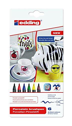 edding-4-4200-6-pennarello-da-porcellana-edding-4200-punte-da-1-a-4-mm-colore-colori-assortiti