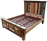 Vintage Bett aus Recycleholz / Betten
