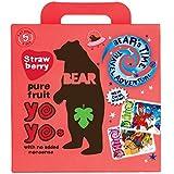 Bear Yoyo 100 Percent Fruit Rolls 100 g (Pack of 6)  Strawberry