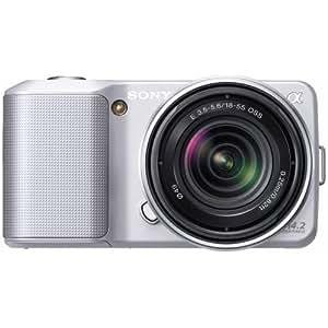 Sony NEX-3KS Appareil Photo Numérique Compact 14.2 Mpix Argent
