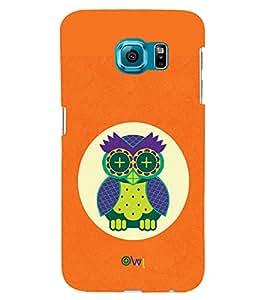 TOUCHNER (TN) Sleeping Owl Back Case Cover for Samsung Galaxy S6::Samsung Galaxy S6 G920