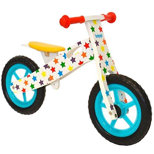 boppi� Wooden Balance Bike - Stars
