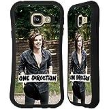 Officiel One Direction Intense Harry Photo Filtre Étui Coque Hybride pour Samsung Galaxy A3 (2016)