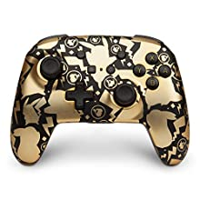 PowerA Enhanced Wireless Controller for Nintendo Switch and Nintendo Switch Lite - Pokemon Pikachu Gold