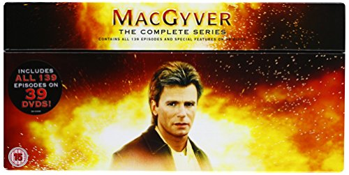 MacGyver_(TV_Series) [Reino Unido] [DVD]