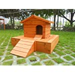 Easipet Duck House wooden floating platform 263 10