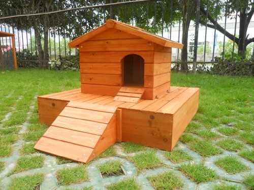 Easipet Duck House wooden floating platform 263 3