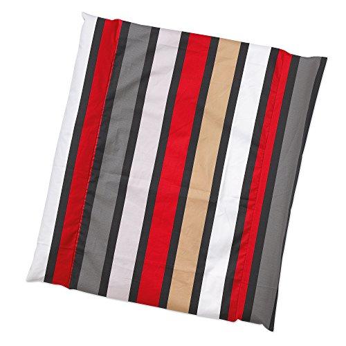 gesslein-814041-matelas-a-langer-motif-rayures-rouge-noir-gris-blanc-couleur-n-041-75-x-85-cm