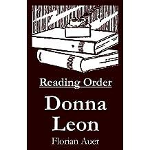 Donna Leon - Reading Order Book - Complete Series Companion Checklist (English Edition)