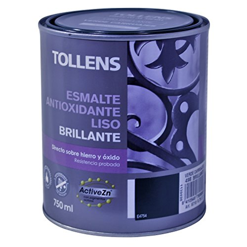 Tollens 8710 Enamel Antioxidant Smooth Glitter, Green Carriages, 750 ML
