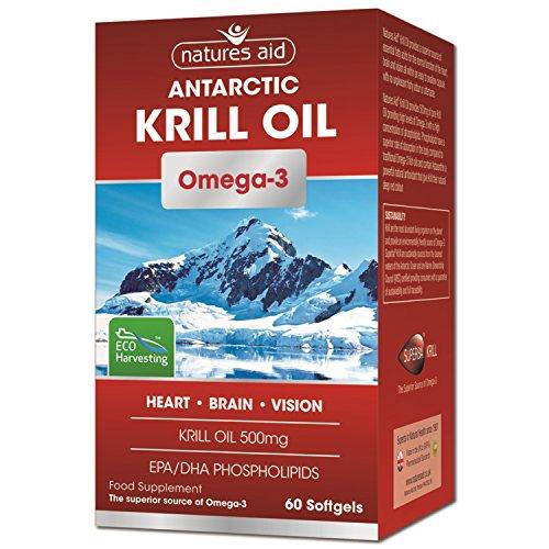 Natures Aid Krill Öl , 60 weichGele