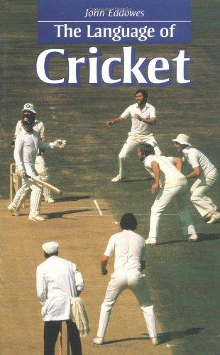 """Language of Cricket (""""Language Of"""" Series)"""