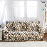FORCHEER Sofabezug elastische Sofahusse Sesselbezug Stretchhusse Sofaüberwurf Couch Husse mit 4 verschienden Größe ( 3-Sitzer, 190-230cm, Farbe #4 )