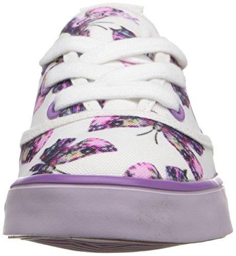 Geox Mädchen JR Ciak Girl E Sneakers Mehrfarbig (WHITE/LILACC0761)