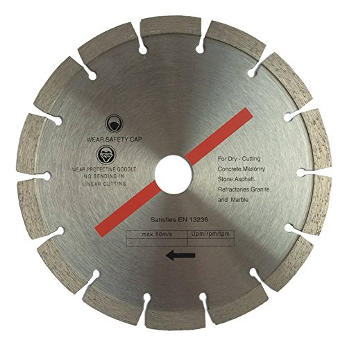 Diamanttrennscheibe 300 x 30 mm segmentiert für Beton, Stahlbeton, Stein, Klinker, etc.
