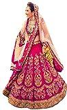 Shreebalaji Enterprise Women'S Chiffon/Cotton Silk Lehenga Choli (Pink)