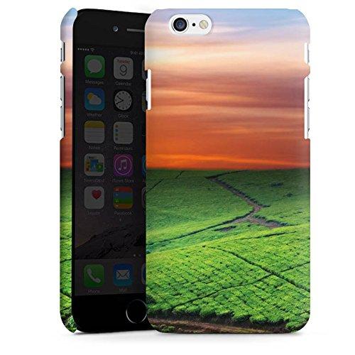 Apple iPhone X Silikon Hülle Case Schutzhülle Wiesenlandschaft Sonnenuntergang Irland Premium Case matt