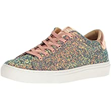 Skechers Side Street-Awesome Sauce, Sneaker Donna, Multicolore (Gold Multi Gdmt), 36 EU