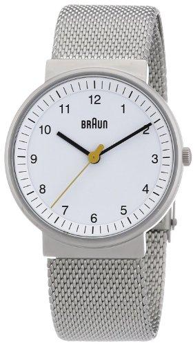 Braun BN0031 - Reloj (Reloj de pulsera, Femenino, Acero inoxidable, 3.3 cm, 8 mm)