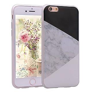 Asnlove iPhone 6S Handyhülle, iPhone 6 Silikon Cover, Elegante TPU Weiche Schutzhülle Marmor Kreativ Muster Tasche Motiv Muster Etui Backcover Soft Case Hülle für Apple iPhone 6 6S 4.7 Zoll