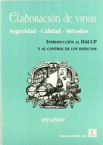 Descargar Libro Elaboración de vinos, seguridad, calidad, métodos de Hyginov