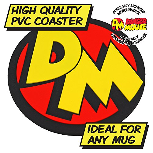 Danger Mouse Logo Coaster, PVC High Quality